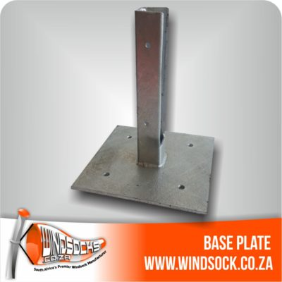 windsock base plate