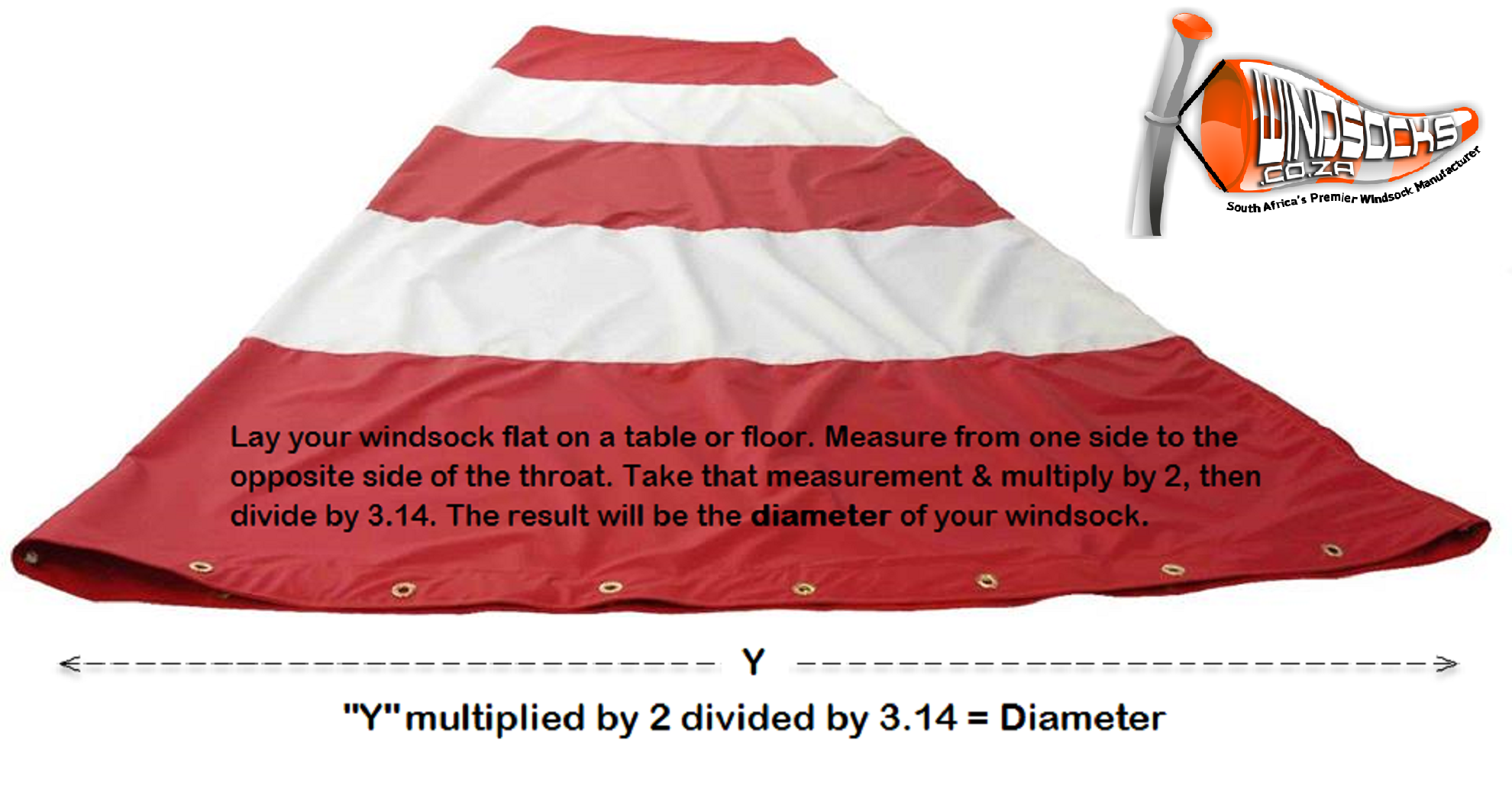 How to measure your windsock1